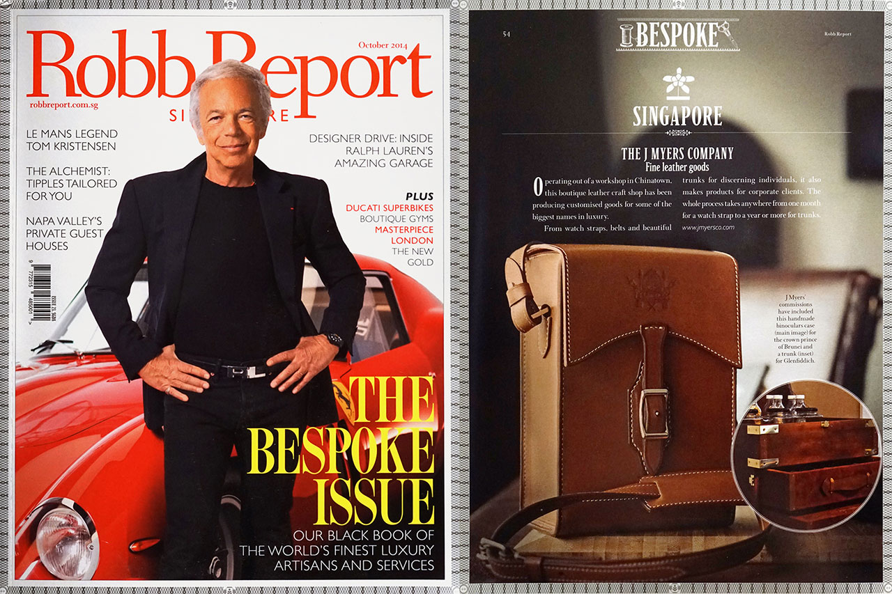Robb Report Featuring The J. Myers Company